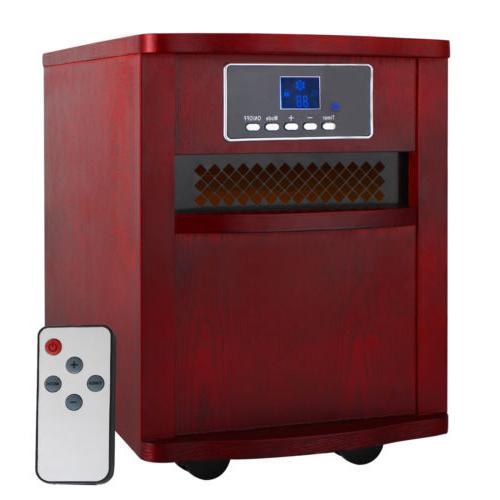 Portable Electric Digital Quartz 5200 BTUs