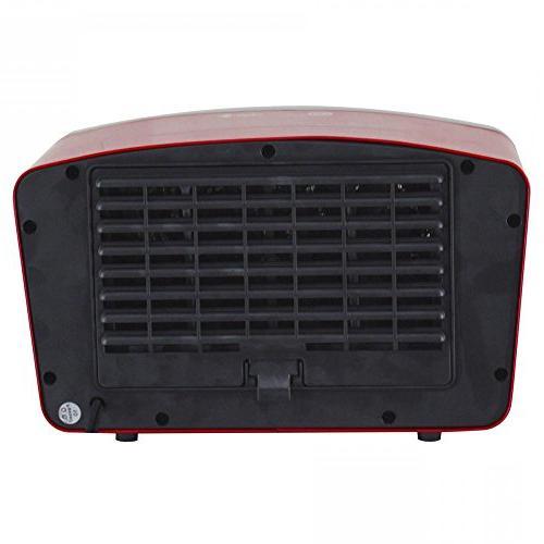 Comfort Zone Ceramic Heater Portable Desk Small Fan Heating