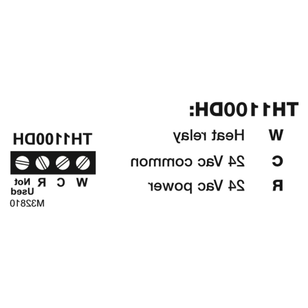 Honeywell PRO 1000 Horizontal TH1100DH1004