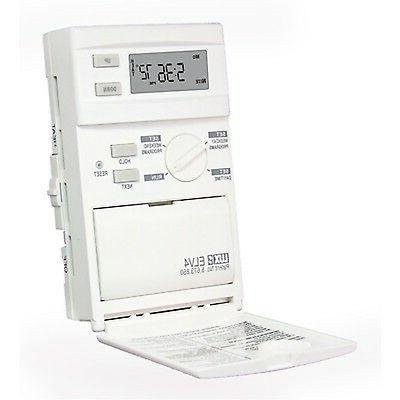 Lux Products ELV4 5//2 Day Programmable Line Voltage Thermostat