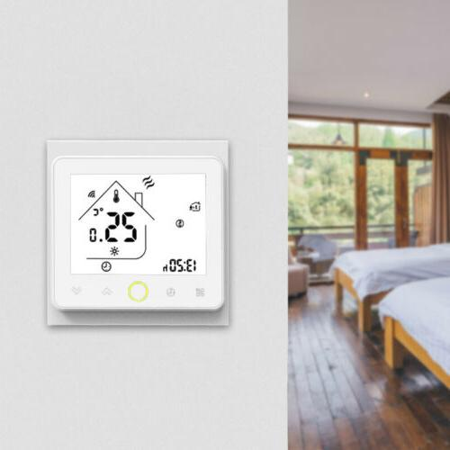5+2 Six Periods Programmable Thermostat APP Control Compatib