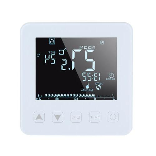 Programmable Electric Heating Thermostat LCD Controller