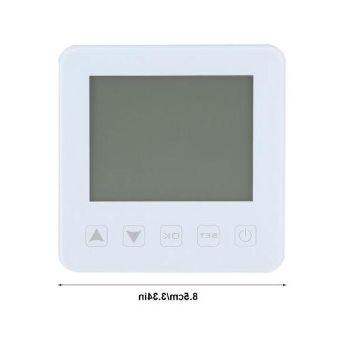 Programmable Electric Thermostat LCD Screen Controller