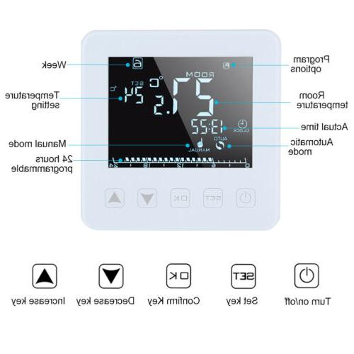 Programmable Heating LCD Temperature Controller