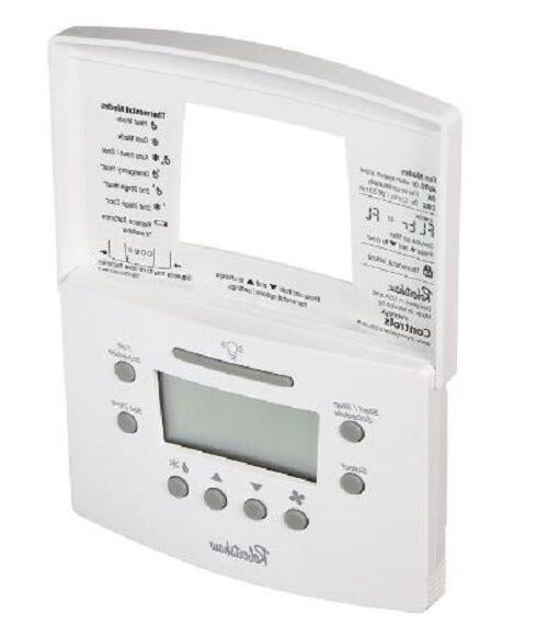 Programmable Thermostat Heat Pump Digital Display 7 Day