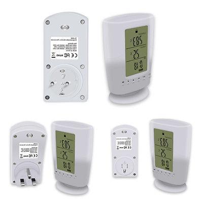 Programmable Home Temperature Remote Plug