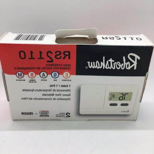 robert shaw thermostat low v t stat