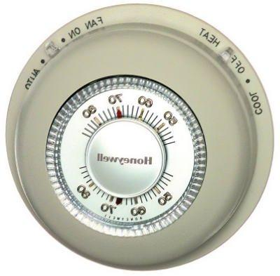Honeywell YCT87N1006 Round Heat/Cool Manual