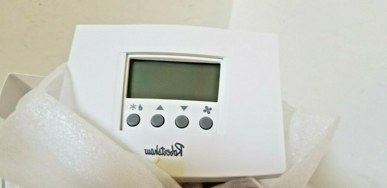 ROBERTSHAW Cool Digital Day Programmable Thermostat Pump