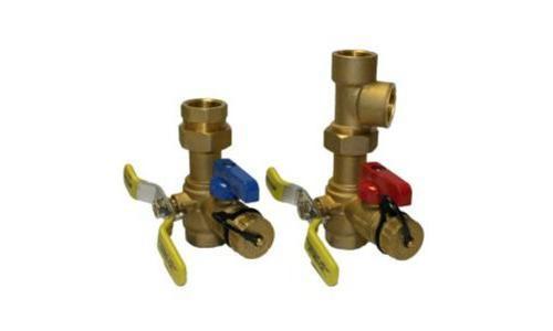 Water Heater Service Kit, Clean Brass