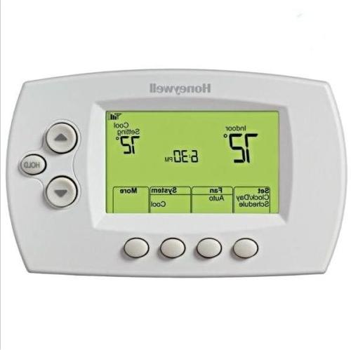 wi fi thermostat rth6580wf1001 7 day programmable