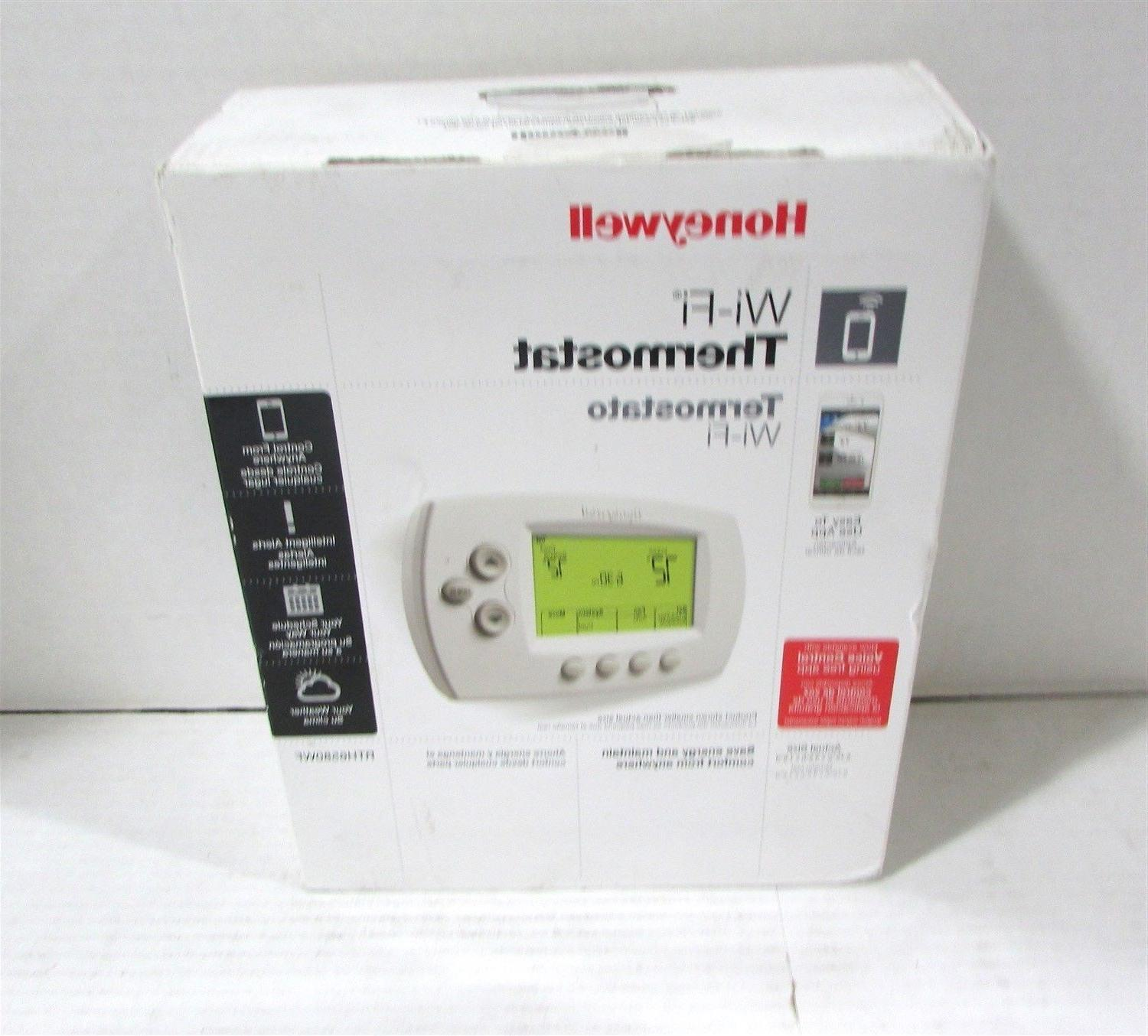 Honeywell Rth6580wf1001  W White 7 Day Programmable Wi