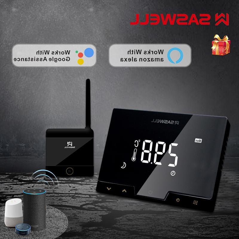 saswe tuya wifi smart font b thermostat