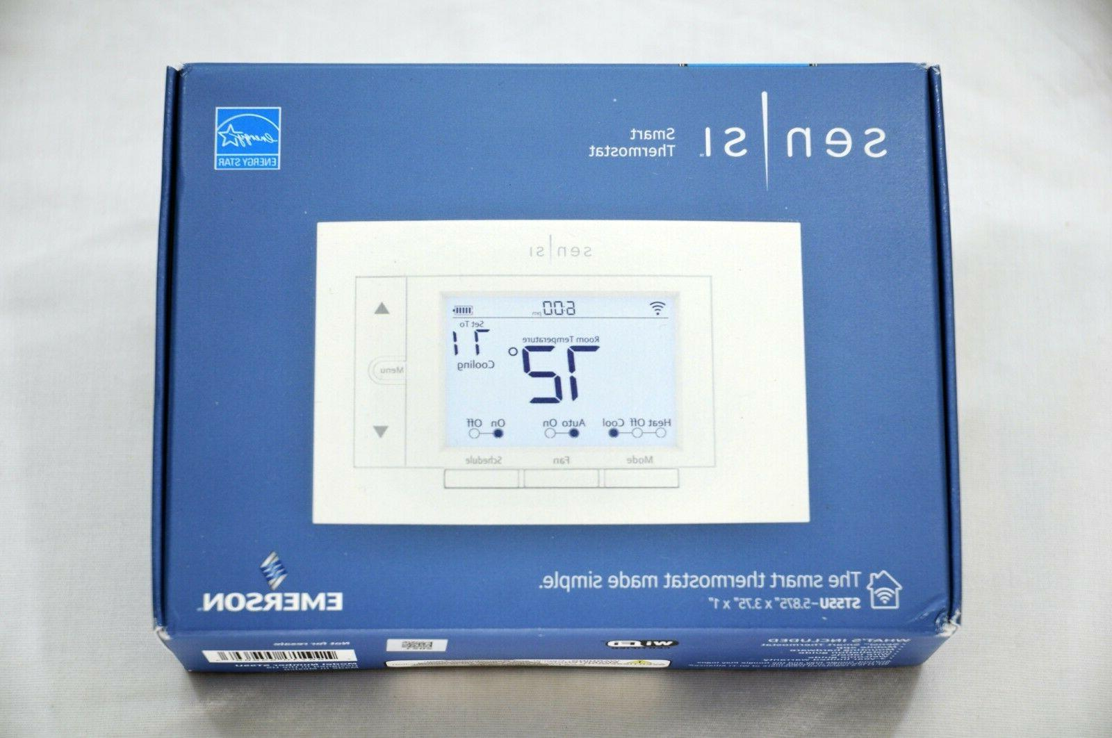 sensi st55u smart home thermostat new sealed
