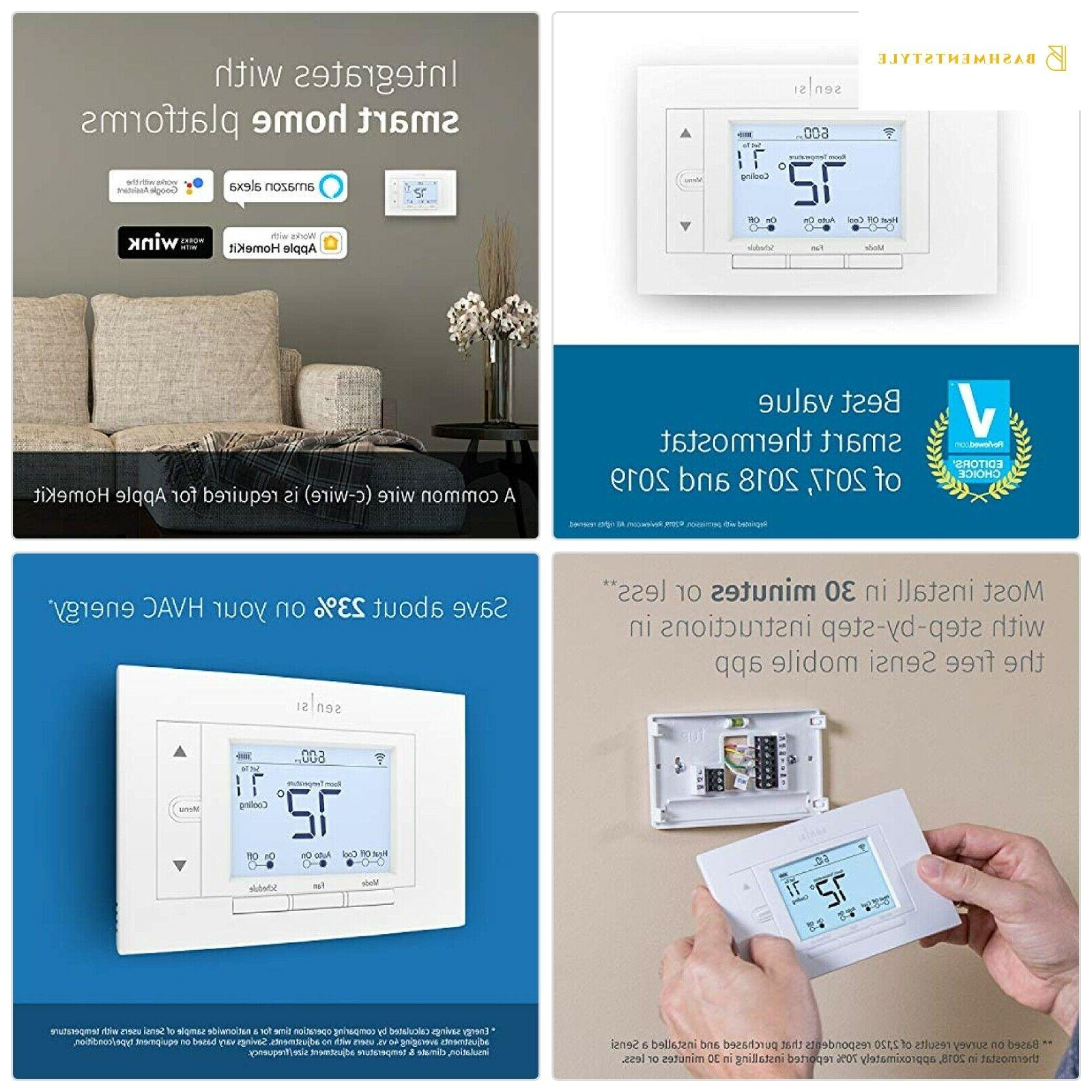 Emerson SENSI Wi-Fi Thermostat for Smart Home 1F86U-42WF by
