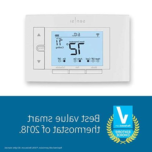Emerson Sensi Wi-Fi for Home, Version, with Energy Star