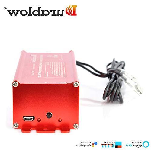 Durablow SH3001 Millivolt Home Remote Control with Alexa, Home, IFTTT