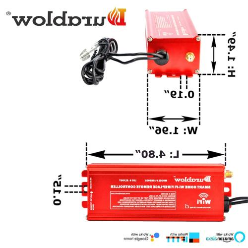 Durablow SH3001 Gas Millivolt Smart Home +