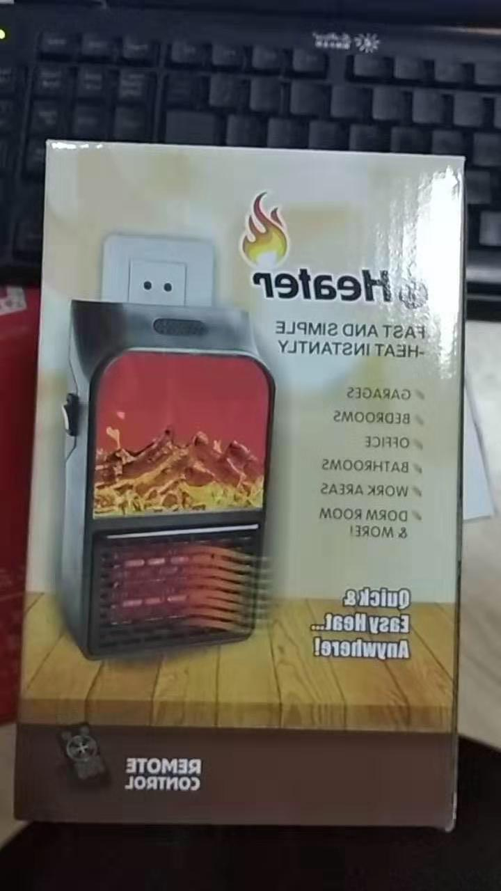 Small Space Heater Timer <font><b>Remote</b></font> <font><b>Fireplace</b></font> Heater Bedroom