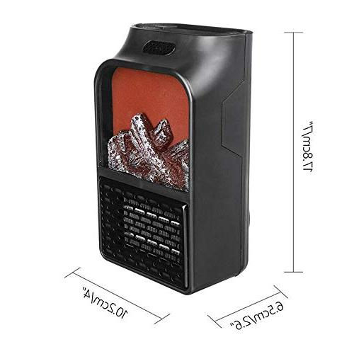 small warm air blower space heater