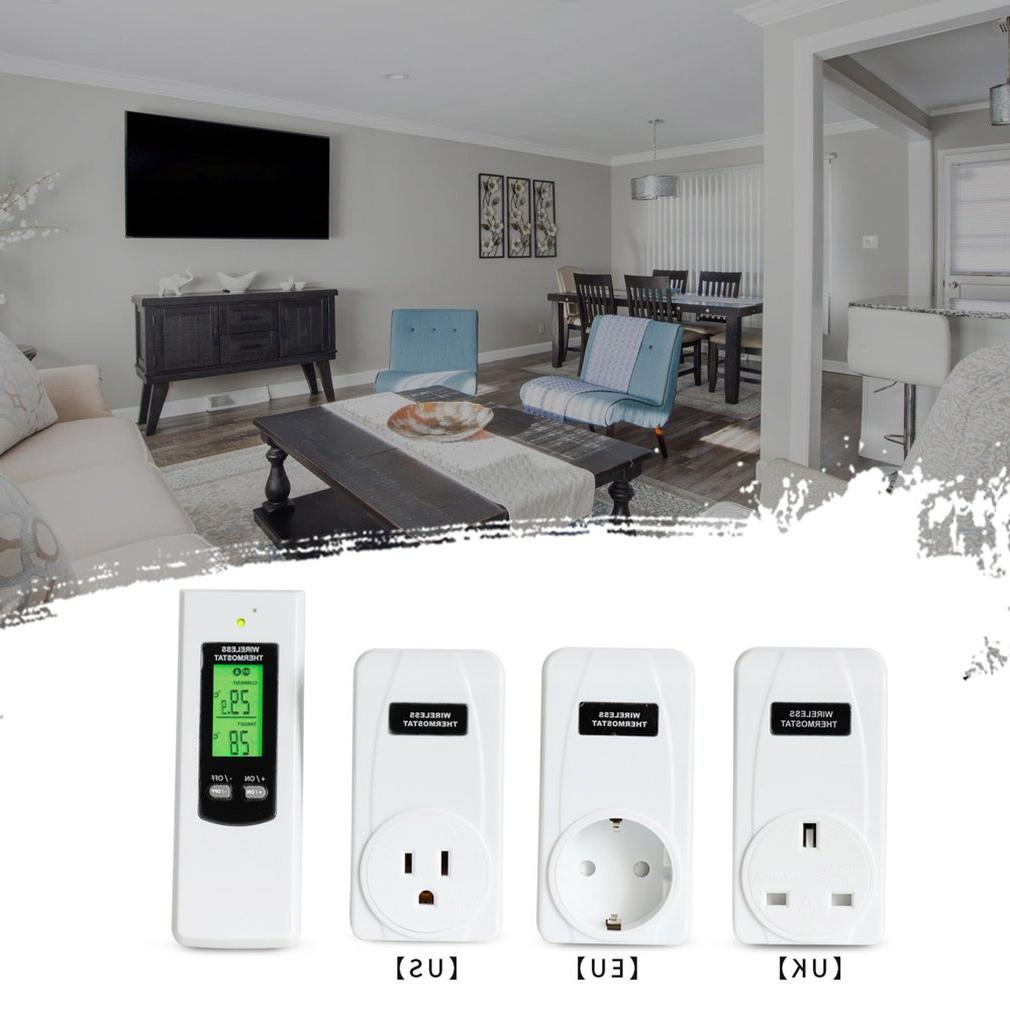 smart <font><b>Control</b></font> RF Plug In <font><b>Thermostat</b></font> Hydroponic Wireless Rf