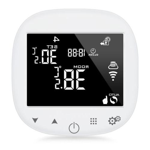 Smart Thermostat Humidity App Control