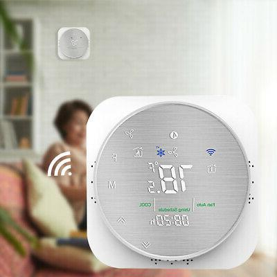 smart home programmable thermostat wifi voice mobile