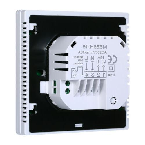 Smart Thermostat Underfloor Digital Temperature
