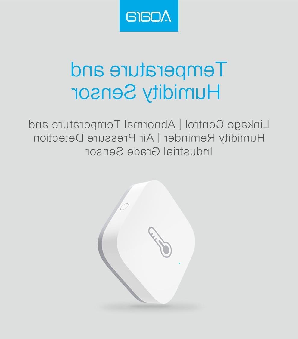 Aqara Smart Sensor wifi <font><b>thermostat</b></font> Xiaomi <font><b>home</b></font> Humidity <font><b>home</b></font> app