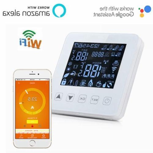 smart voice remote wifi digital thermostat programmable