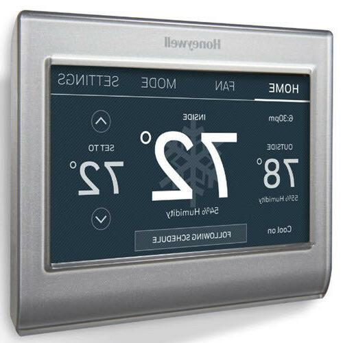 Smart Wi-Fi Programmable Touch Thermostat Amazon Alexa Smart