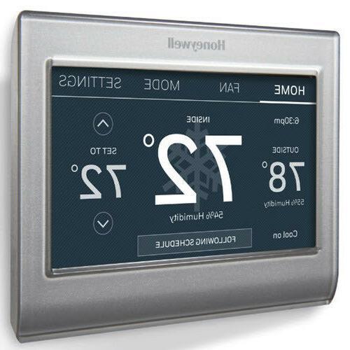 Smart Wi-Fi Programmable Touch Thermostat Amazon Alexa