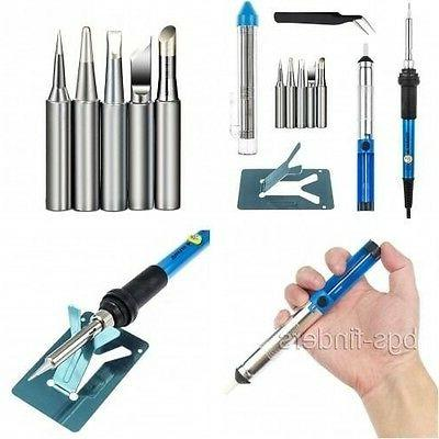 Electric Soldering Iron For Electronics Set Temperature Cont