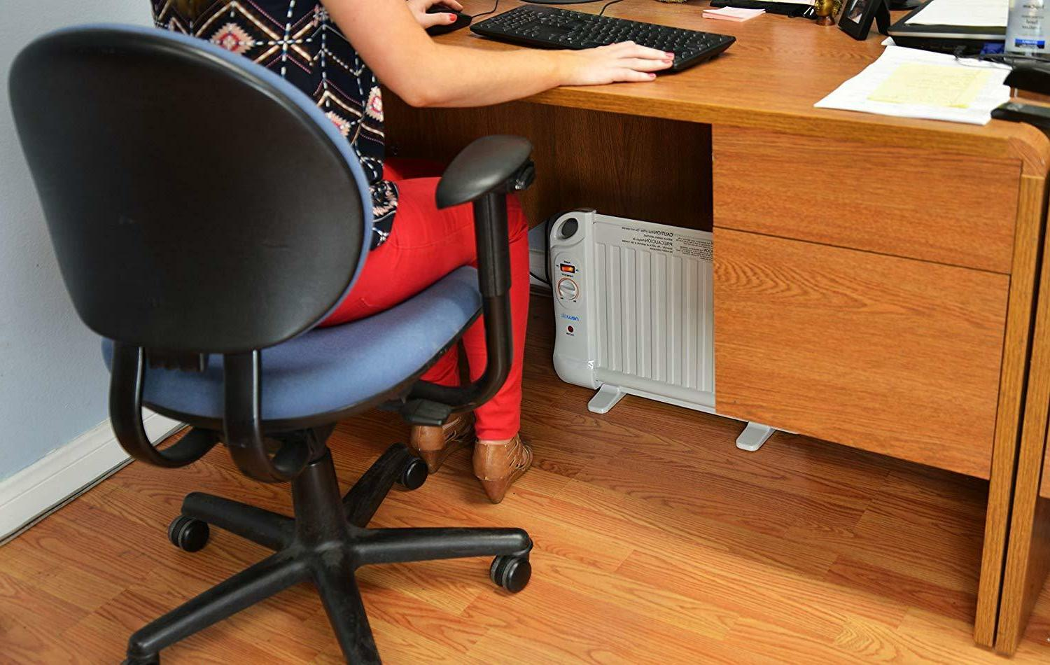 space heater electric bedroom office portable thermostat