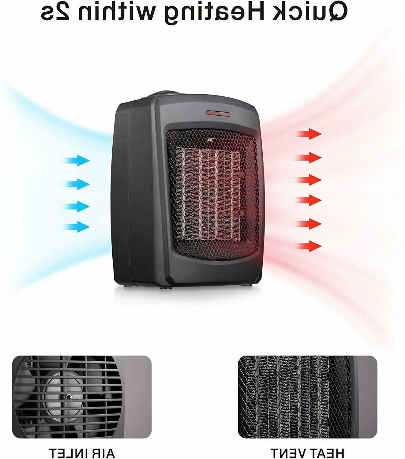 andily Electric Heater Home Office Small Heater