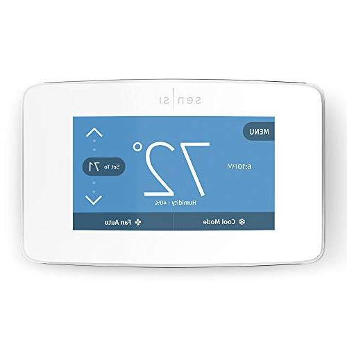 Emerson Sensi Touch Display, White, Energy Certified