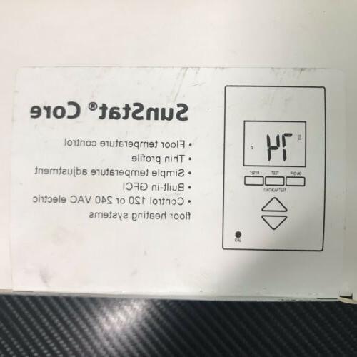 SUN TOUCH SunStat Non Floor Heat Thermostat 500825
