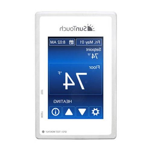 sunstat command programmable thermostat touchscreen