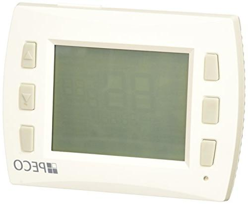 Peco T8532-001 Performance PRO Programmable Thermostat, 2H