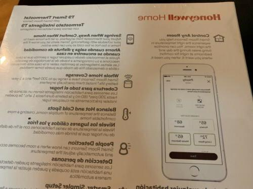 Honeywell Home Smart Thermostat w/ RCHT9610WFSW NEW/SEALED