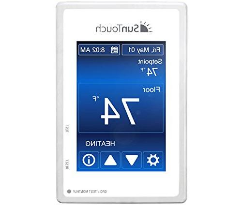 "SunTouch Kit sq 24"" configurable to your easily installs tile/stone for added user-friendly Command Thermostat"
