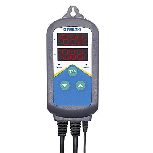 temperature controller 306 wired dual