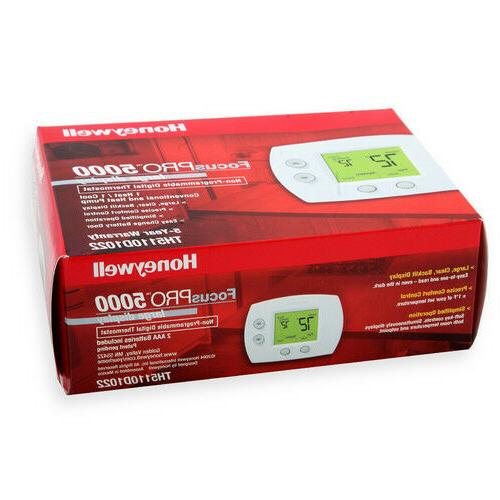 Honeywell TH5110D1022 FocusPro Non-Programmable Thermostat