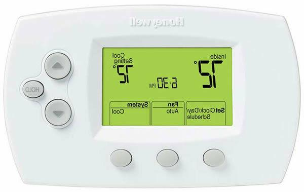 th6110d1005 focus pro 6000 programmable thermostat white