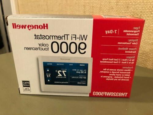 Honeywell TH9320WF5003/U Wi-Fi Color Touchscreen 9000 Work