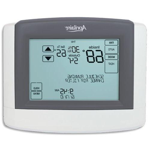 Aprilaire Thermostat, 24 VAC Touchscreen Communicating Therm