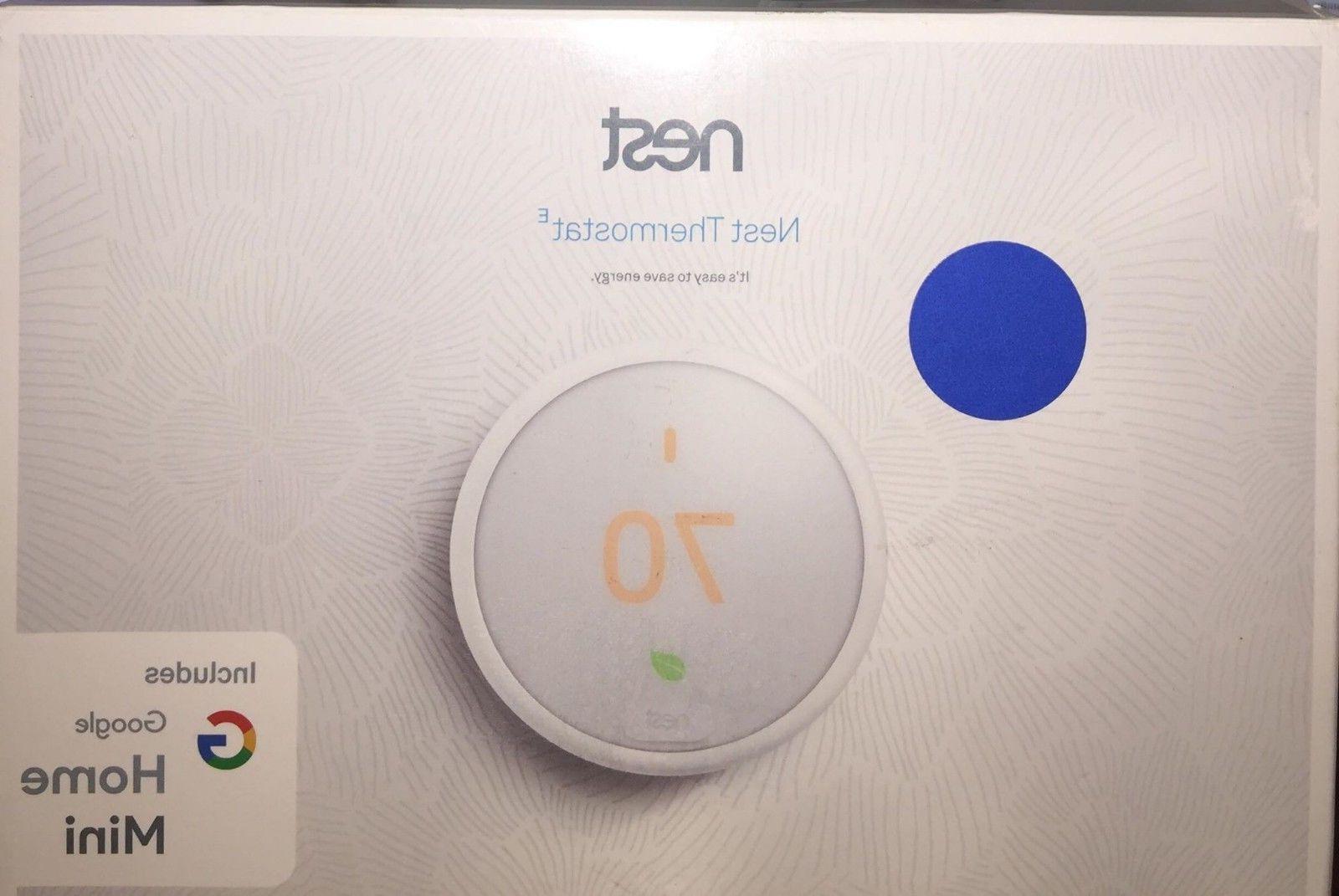 Nest Thermostat E with Bundle