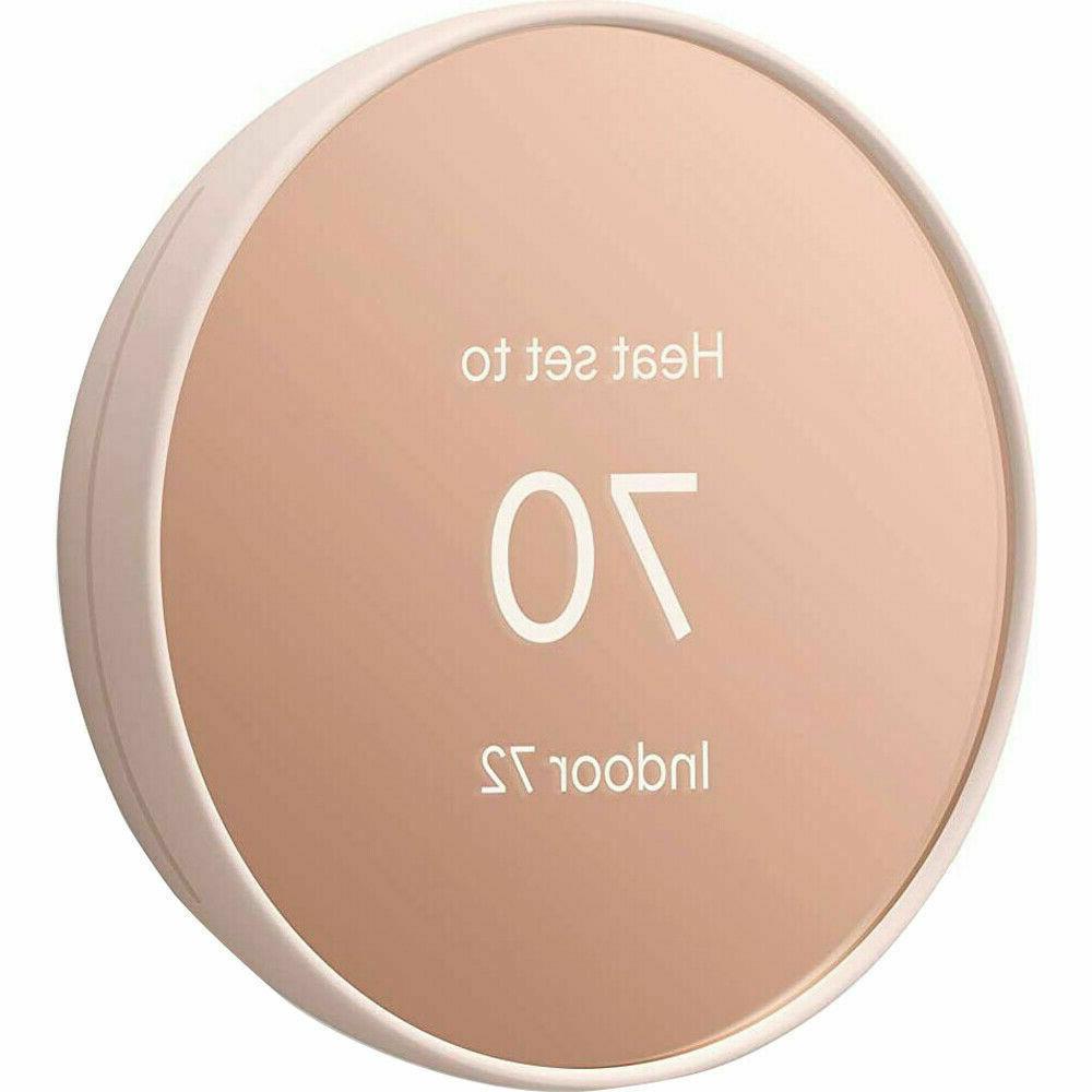 Google Nest Thermostat Programmable Smart for - GA02082-US