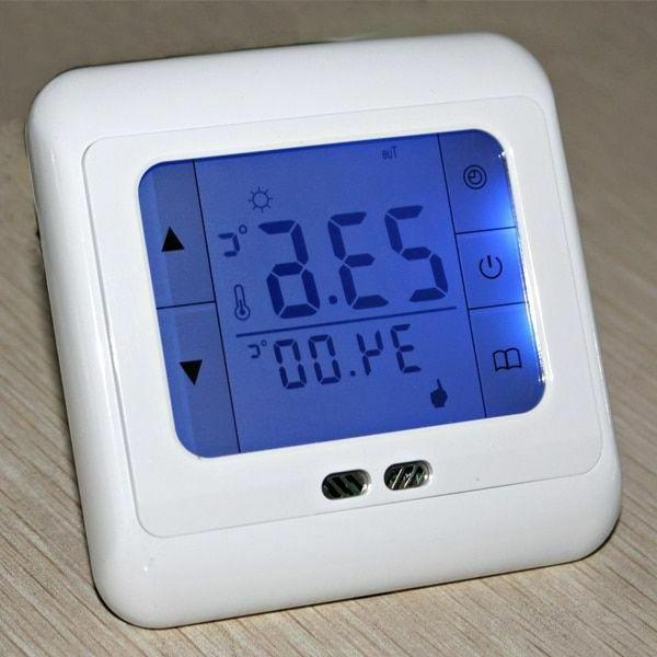 Thermostat Screen LCD Sensor Home Heating System