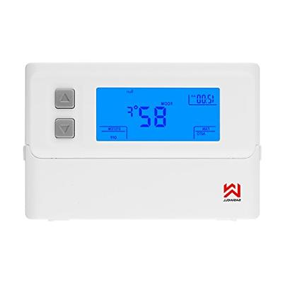 thermostat with accurate temperature control large lcd